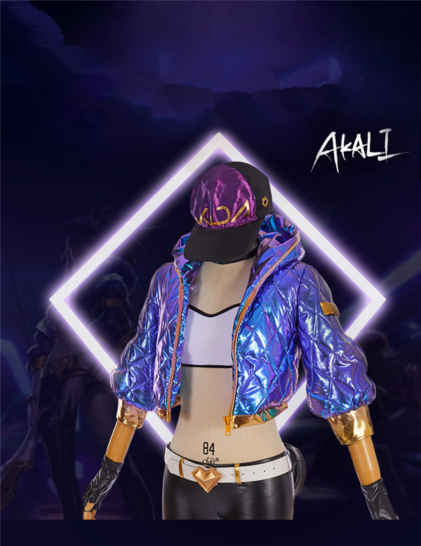 Anime 2019 KDA Akali LOL Idol singer new skin kda akali cosplay costumes Akali Jacket Women Christmas costume A in Anime Costumes from Novelty Special Use