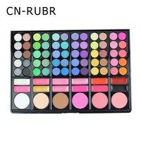 CN RUBR 78 Color Eyeshadow Cosmetic Shimmer Makeup Matte Palette Set Fashion Women Warm Eye Shadow