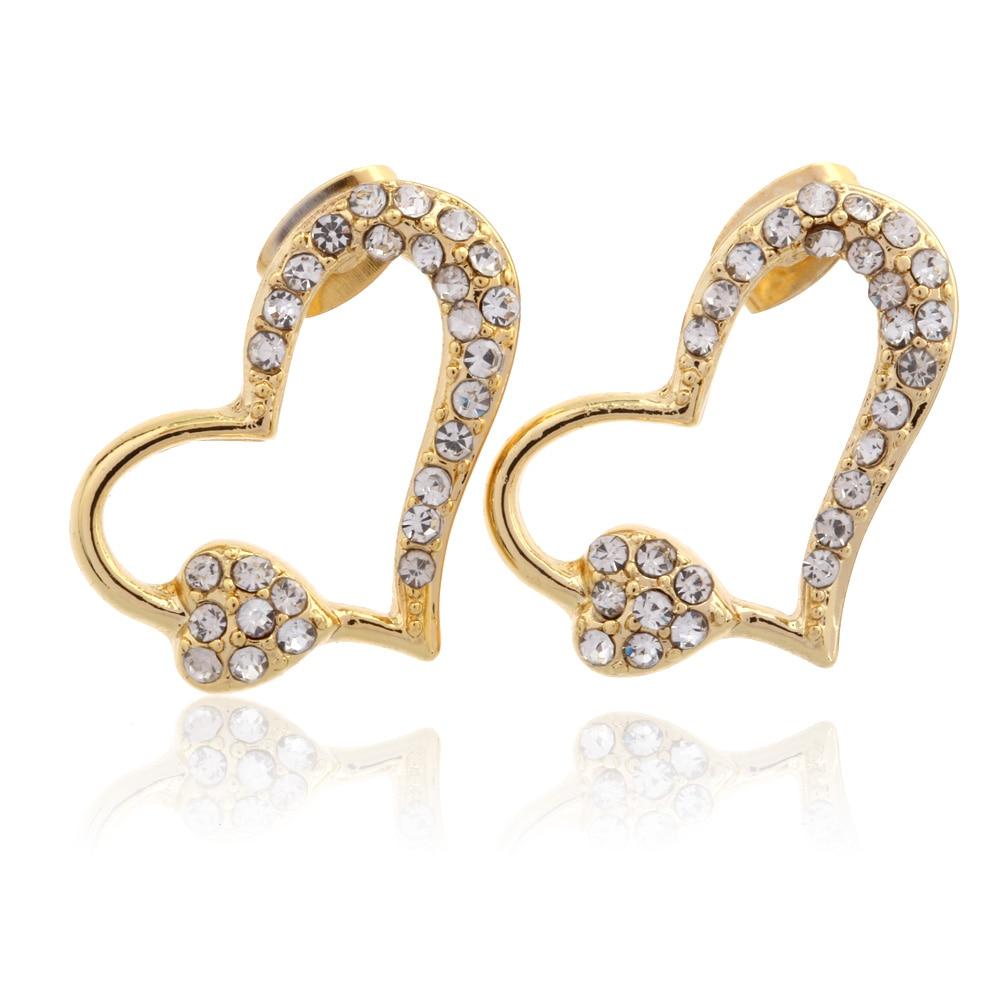 New style stud earrings 2016 oorbellen simple gold earrings for ...