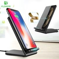 FLOVEME 5 V/2A Smart IC Schnelle Drahtlose Ladegerät für Samsung Galaxy Note 8 S8 S7 S6 rand QI WIRELESS-LADEGERÄT Quick Charge Draht weniger
