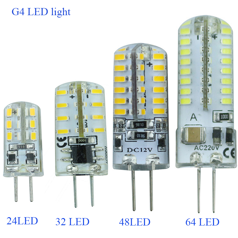G4 dimmable led Bulb Lamp High Power SMD3014 3W 5W 6W 12V 220V Replace 10W 30W halogen lamp 360Beam Angle LED lamp led g4 ac 220v dc 12v led bulb lamp smd 3014 3w 4w 5w 6w 7w replace 10w 30w halogen lamp light 360 beam angle led bulb lamp