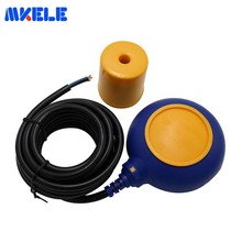 Hot Sale Cable Water Tank Float Level Switch 4 Meter AC 250V MK-CFS03 Float Switch Cable Fluid Level Controller