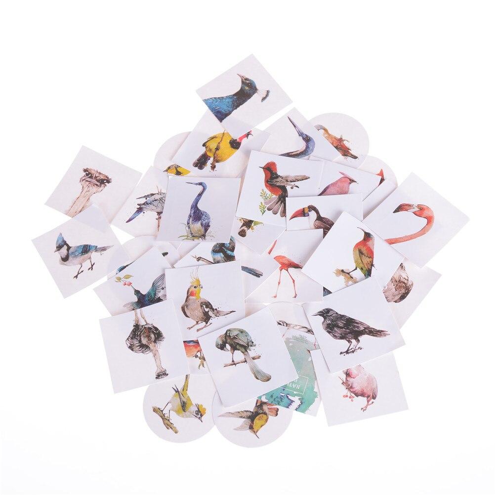 Office & School Supplies New Fashion 45pcs/box Cute Creative Chick Sticker Child Diy Toy Watercolor Cartoon Sticker Scrapbooking Seal Sticker Kawaii Stationery