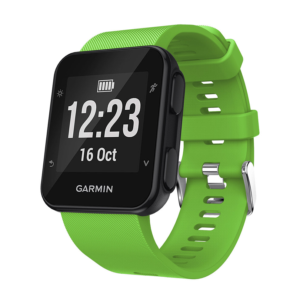 Image 2 - Sport Silicone Watch Band Strap for Garmin Forerunner 35 30 Smart Watch Bracelet Colorful Replacement Wristband Watchband-in Smart Accessories from Consumer Electronics