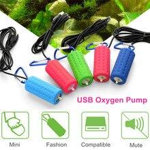 Аквариумный воздушный насос портативный USB кислородный воздушный насос бесшумный энергосберегающий необыкновенный выход водный Террариум аксессуары для аквариума