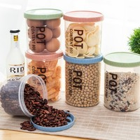 1 Set Of 3 Large Medium And Small Food Container Organizer Convenient Storage Boxes Sealed Jar