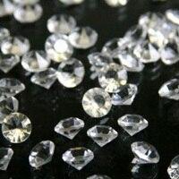 2x10000 pcs/Pack, transparente 4.5 MM Acrílico da Tabela Do Casamento de Diamante de Dispersão Cristais Confetti Gemas Casamento Decorações
