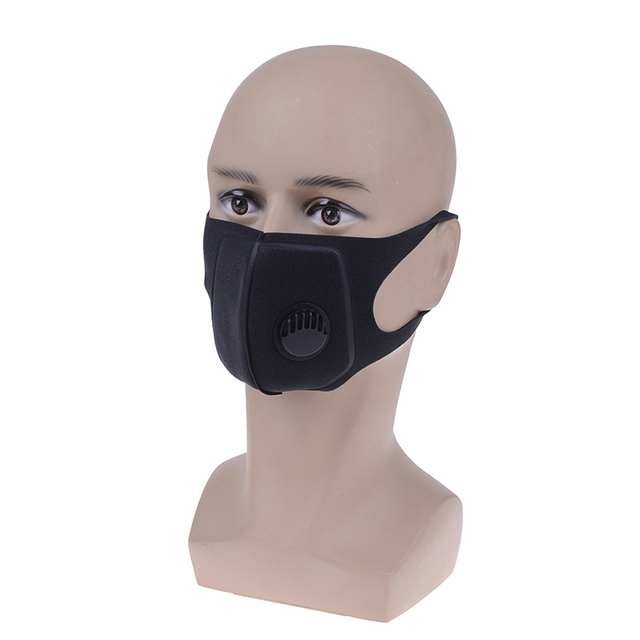 1 Pcs PM2.5 Anti-Dust Mask Anti-pollution Face Mask Activated Carbon Filter Washable mask Flu-proof Mouth Mask 5