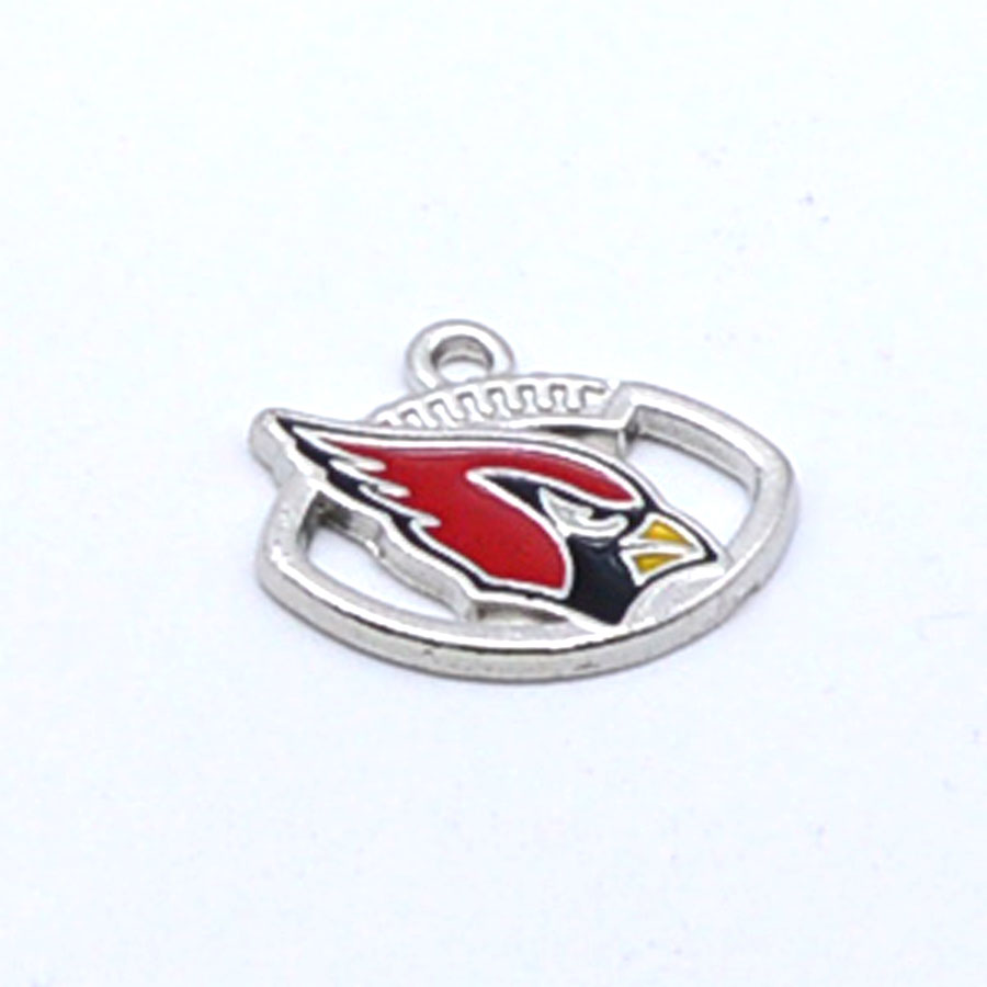 Pendant Charms Arizona Cardinals Dangle Charms for Bracelet Necklace for Women Men Football Fans Paty Fashion 2018