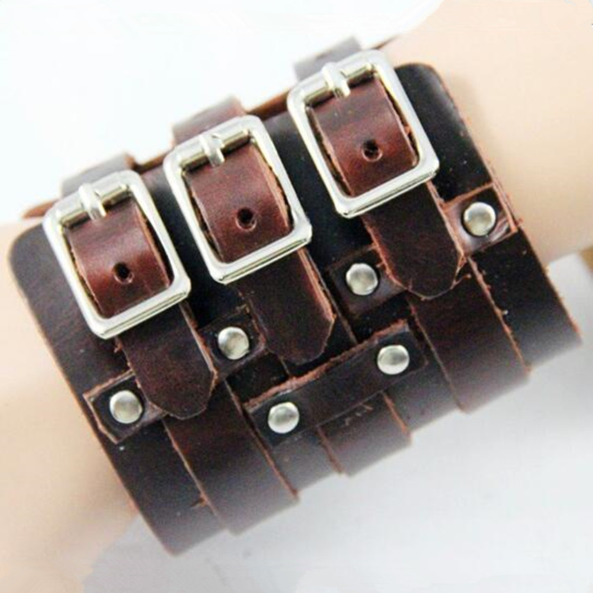 Cheap Price Esihou Rivet Middle Ages Cosplay Props Style Punk Rock Leather Wrist Strap Cuff Acc Wrist Support Guard Moderate Cost Costumes & Accessories