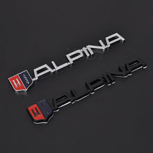 Mode Auto Stickers Embleem Refit Badge Metalen Decal Voor BMW Alpina M M3 M5 M6 X1 X3 X5 X6 E46 E39 E60 E90 E36 Auto Styling(China)