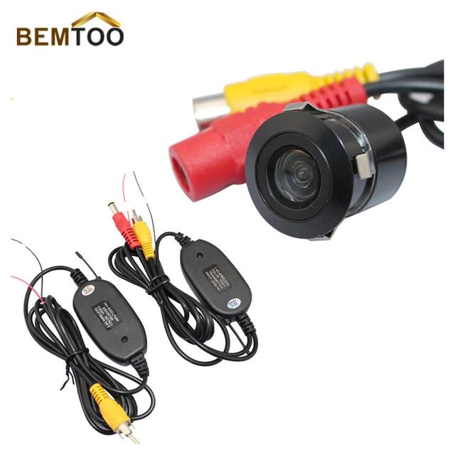 BEMTOO  2.4G WIRELESS Module adapter for Car  Camera cam+170 Anti-Fog Glass Car Auto Rear View Reverse Waterproof Camera