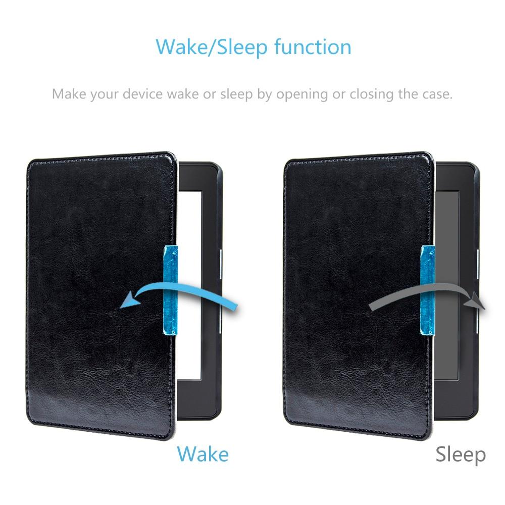 Funda elegante con cubierta de imán de cuero de la PU Magnet Folio - Accesorios para tablets - foto 4