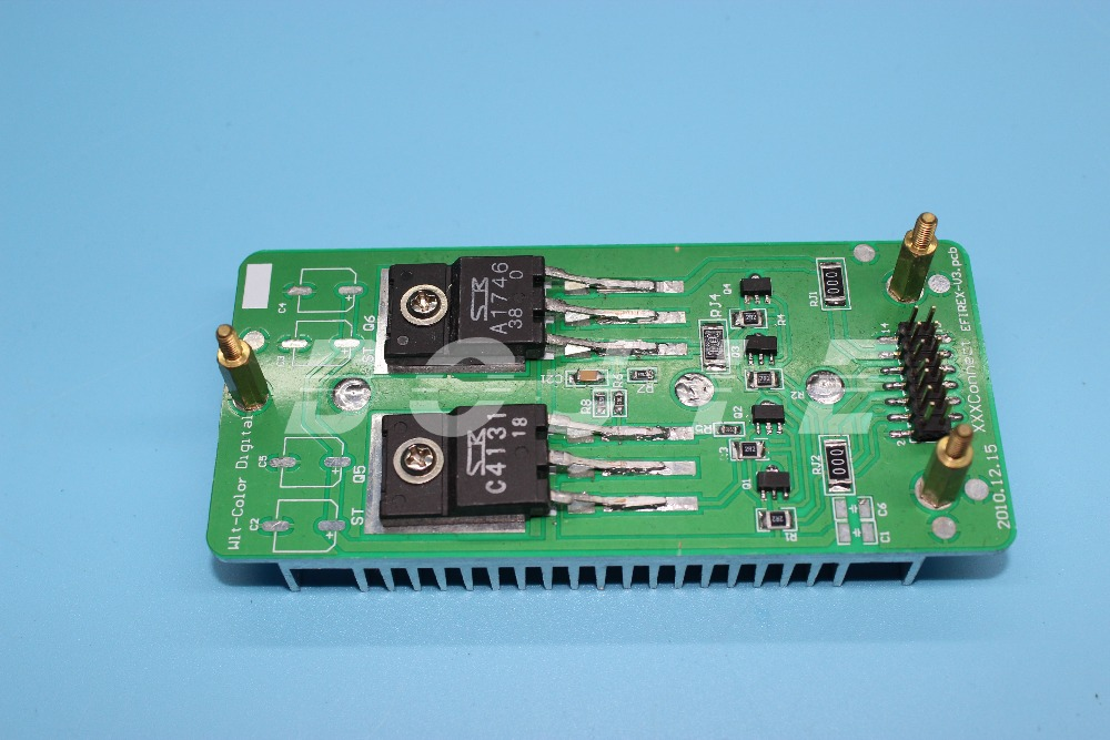 Wit color ultra 9200 printer parts radiator pcb board for dx7 printhead