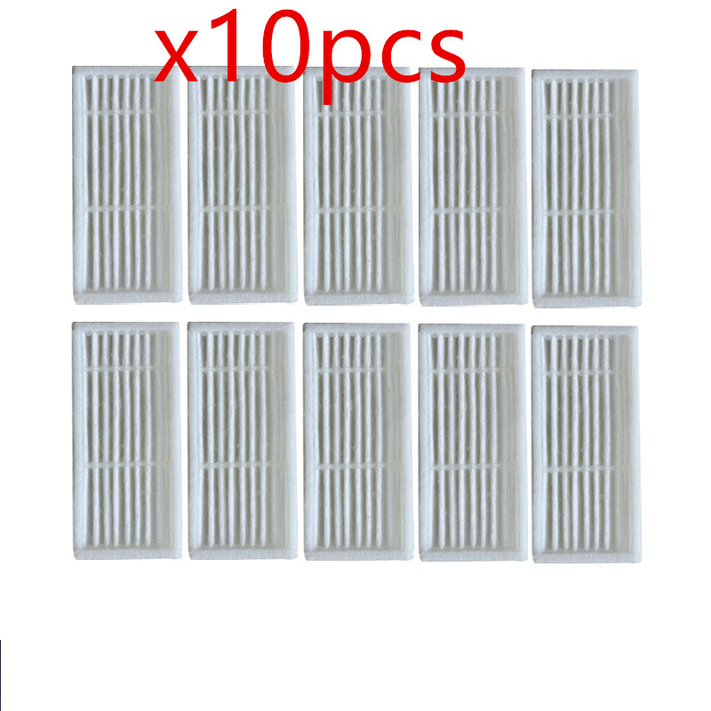 10 pieces/lot Robot Vacuum Cleaner hepa filter for Liectroux B6009 Robotic Vacuum Cleaner Parts 5 pieces lot robot vacuum cleaner parts hepa filter for proscenic 790t