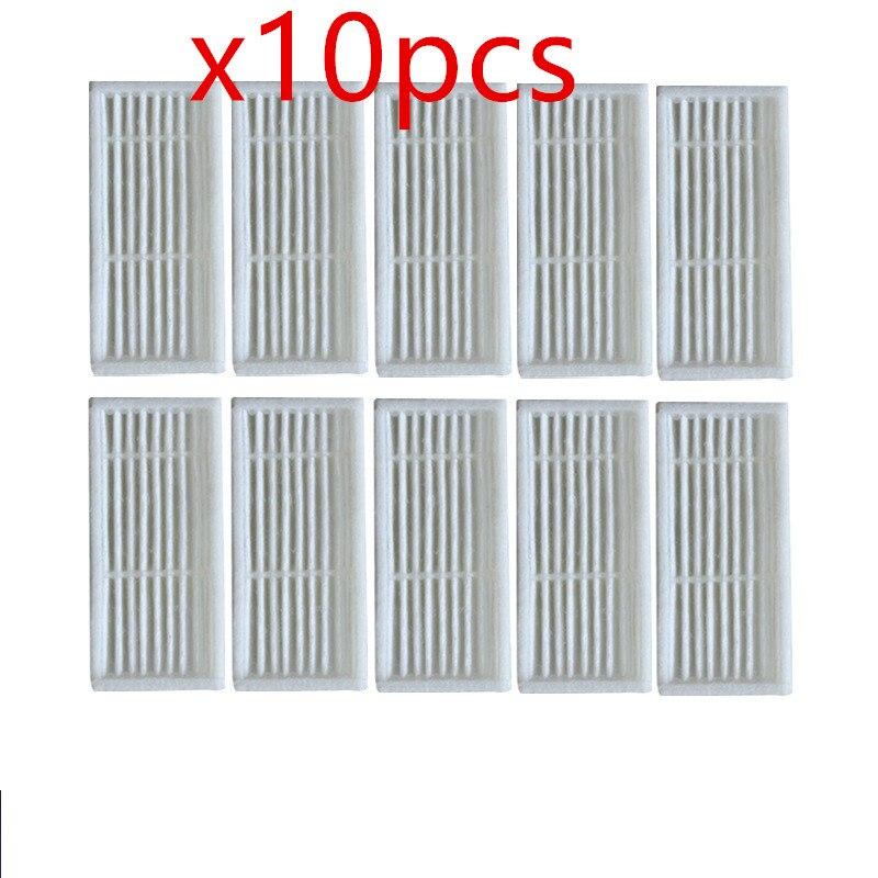 10 teile/los Roboter-staubsauger hepa-filter für Liectroux B6009 Roboterstaubsauger Teile