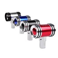 Car Styling Aluminum Alloy Car Gear Shift Knob Universal Manual Transmission Stick Shift Gear Shifter Metal Lever Knob