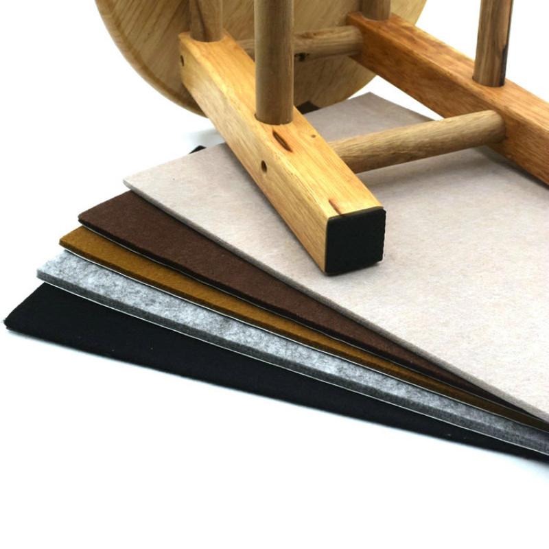 Furniture Mat Table Chair Cabinet Sofa Furniture Leg Felt Mat Pad Furniture Protector Self-adhesive Noise prevention Non-slip