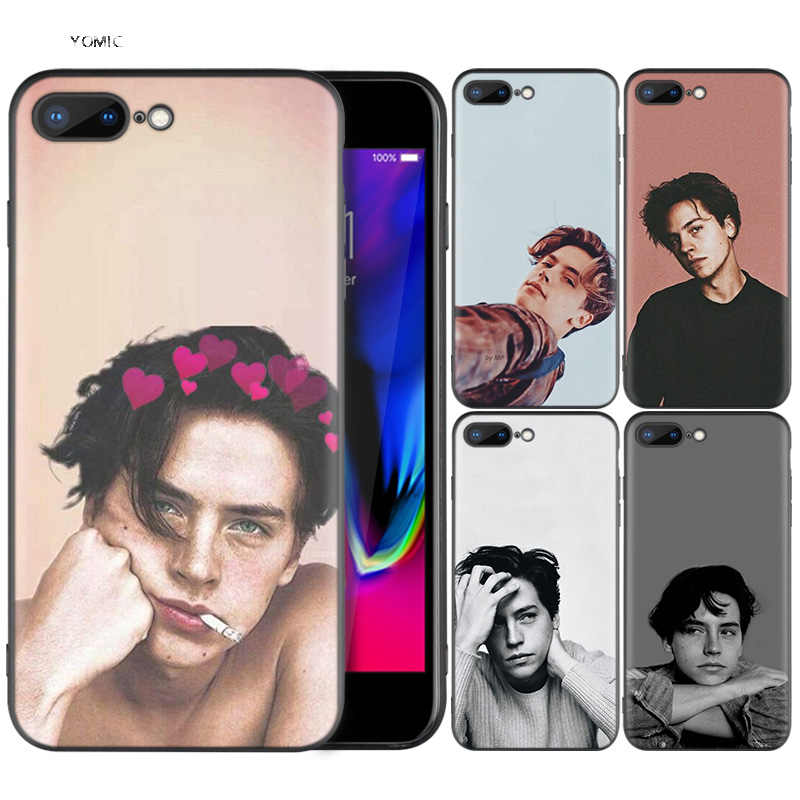 Silicone Case Shell Coque for iPhone 7 8 6 6S Plus X XS MAX XR 5C 5 5S SE 7Plus 8Plus 7+ 8+ Riverdale Cole Sprouse Jughead