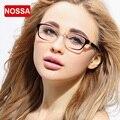 NOSSA Moda Elegante HD Ultral Luz Óculos de Miopia Óculos De Armação de Prescrição Armação Dos Óculos Dos Homens Das Mulheres