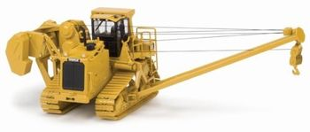 Diecast Toy Model Norscot 1:50 Caterpillar CAT 587T Replica Pipelayer Engineering Machinery 55272 for Boy Gift,Collection