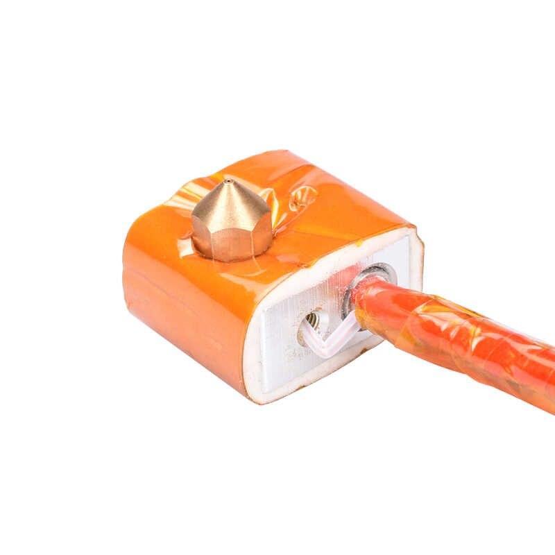 RepRap MK7 MK8 Blok Aluminium Blok Pemanas Blok untuk Print Head Hotend untuk MK8 Extruder Blok Pemanas 3D Bagian Printer