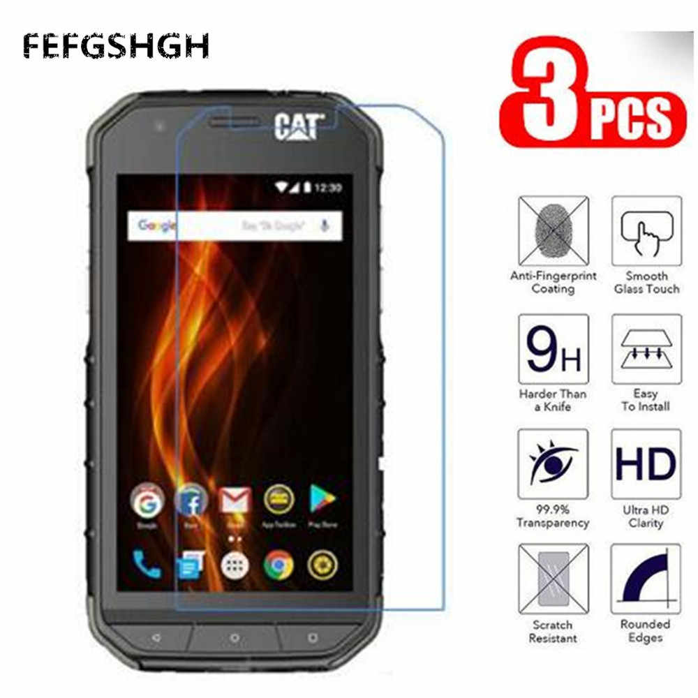 "2.5D 9H Tempered Glass For Caterpillar Cat S31 4.7"" Screen Protector Glass For On The For Cat S31 Protective Film Glass"
