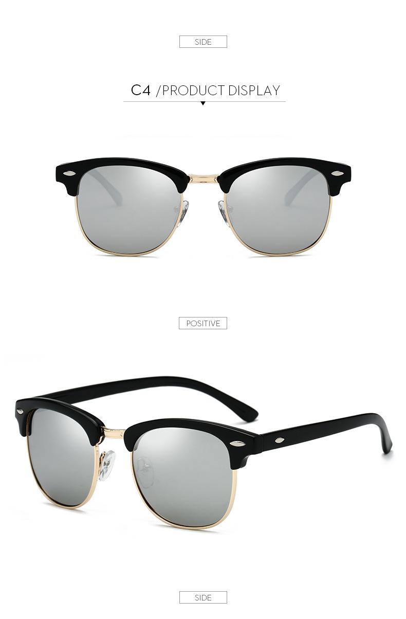 Polarized Sunglasses Men Women RB3016 Brand Design Eye Sun Glasses Women Semi Rimless Classic Men Sunglasses Oculos De Sol UV400 10