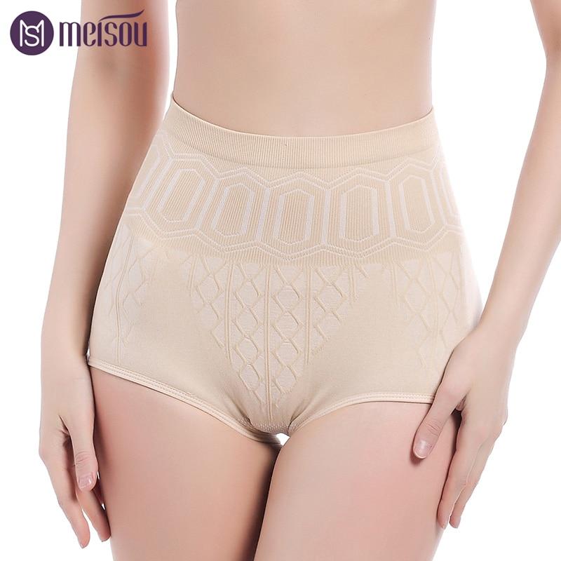 Haute Qualité Femmes Sans Soudure En Gros Push Up Sexy Sous-Vêtements Taille Haute Minceur Corps Shaper Culottes Respirant Coton Matériel