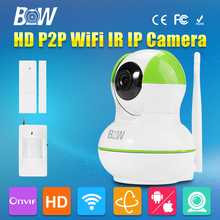 Dome IP font b Camera b font Wireless Wifi P2P 3 6mm Baby Monitor Infrared Motion