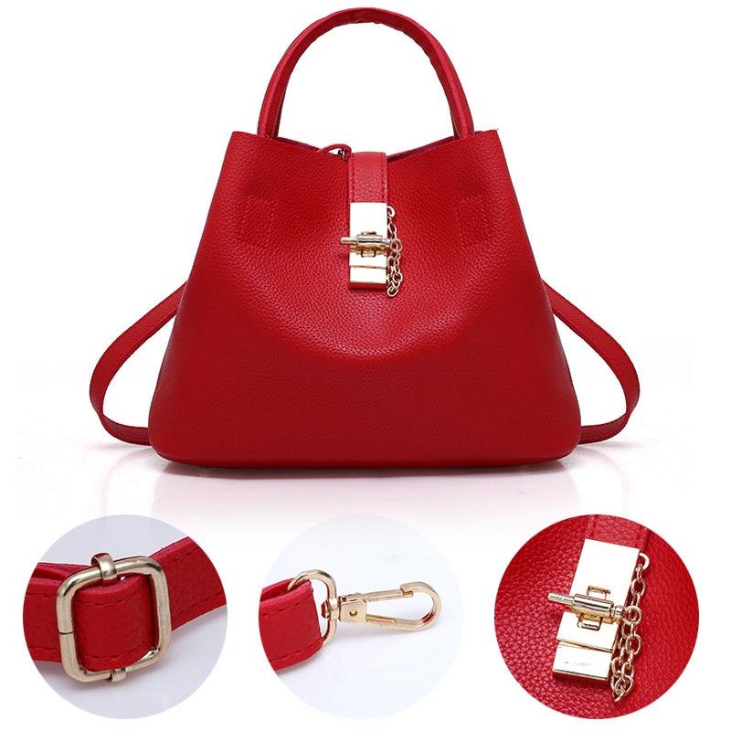 Rosso red Di Valenkuci 2018 pink Handbag Progettista Marca Black Qualità Famoso Handbag Composito Del Bag Messaggero Modo Borse Delle Crossbody Donne Handbag Alta dfwwq1