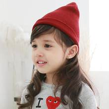 Baby Beanie Boy Girls Soft Hat Children Winter Warm Kids Knitted Cap winter keep warm cute children's outdoor hiking cap(China)