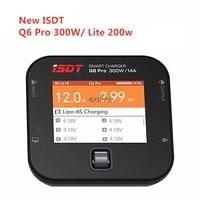 New ISDT Q6 Pro BattGo 300w / Q6 Lite 200W 12A Pocket Smart Digital Lipo Charger Battery Balance Charger For RC Models 119g
