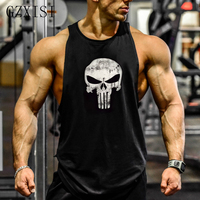 Musculation Vest Bodybuilding Clothing And Fitness Men Undershirt Solid Tank Tops Sleeveless Blank Golds Men Undershirt