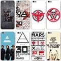 30 Секунды На Марс Жесткий Прозрачный Чехол Case для iPhone 7 7 плюс 6 6 S Плюс 5 5S SE 5C 4 4S