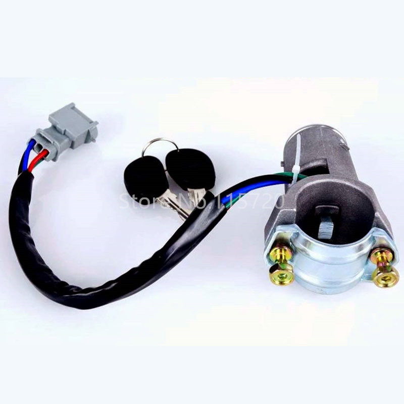 2992551 2991727 Ignition Barrel Key Ignition Switch Barrel Door Lock Barrel For Iveco Daily 2000-2006 Door Lock Set Auto Replacement Parts