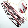 100pcs Black & Red Motherboard Jumper Cable Wires Tinned 20cm 24AWG Brand New