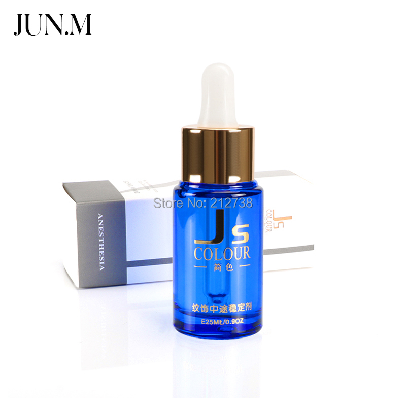 High Quality 1 Bottle 25ml Permanent Tattoo Makeup Assistance Auxiliary Supply For Eyebrow and Lip Makeup Tattoo Accessories