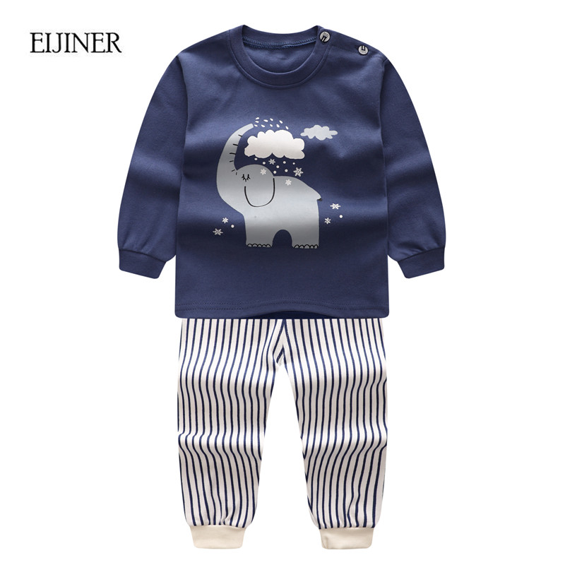 Elephant Baby Boys Clothing Set Autumn 2017 Newborn Baby ...