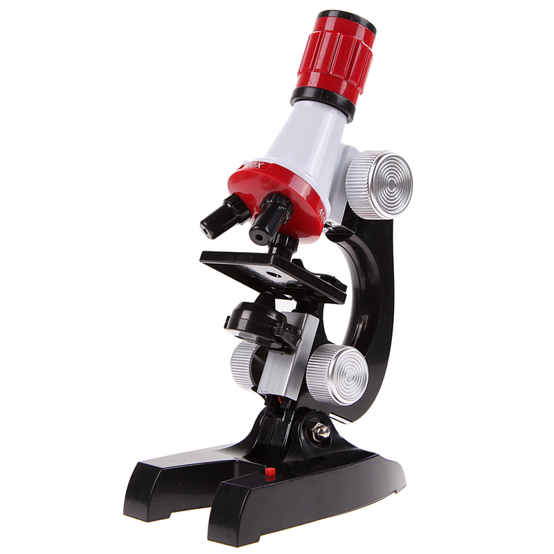 Microscope Kit Toy With 100x, 400x And 1200x Magnification