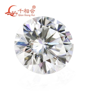 Image 2 - 6.5mm DF  color white Round Brilliant cut moissanites loose stone with GRA certificates