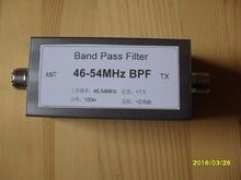 46-54MHz BPF bandpass filter improves anti-interference ability, improves selectivity and improves sensitivity цены онлайн