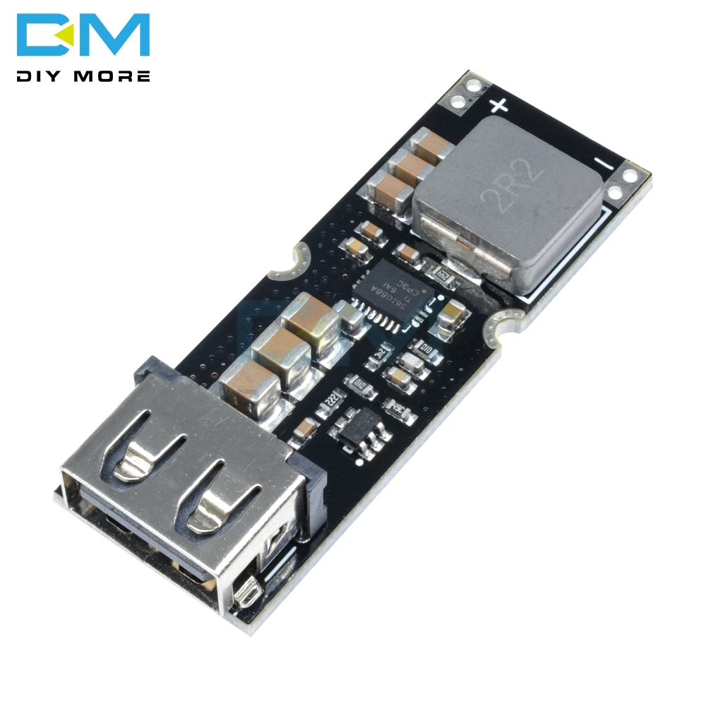Single Cell Lithium Battery Boost Power Module Board 3.7V 4.2V Liter 5V 9V 12V USB Mobile Phone QC Fast Charge QC2.0 QC3.0 image