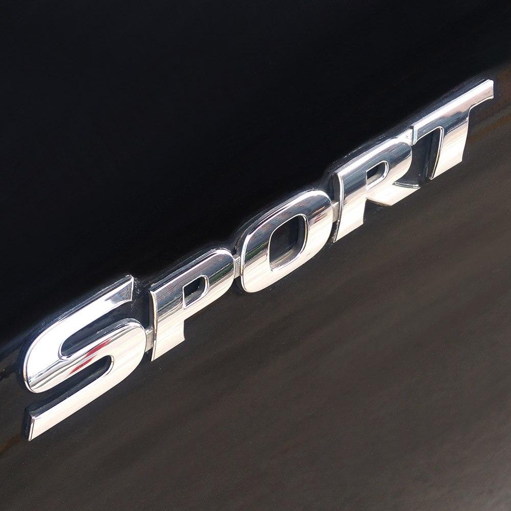 Car Styling 3D ABS Chrome Logo Car Sticker SPORT Emblem Badg