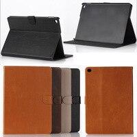 Voor ipad air2 gevallen Crazy Horse PU Leather Case Cover Voor Apple iPad Air 2 Voor Ipad6 Tablet Accessoires met kaartsleuven
