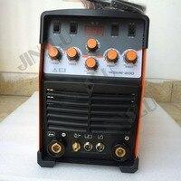 Цифровой WSME 200 ACDC импульса Tig сварочный аппарат сварка алюминия