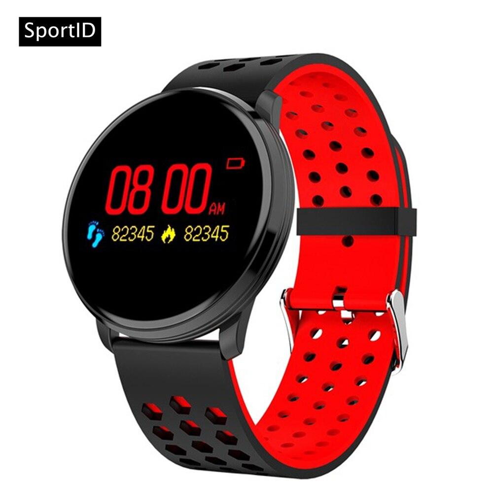 Смарт-часы Для мужчин M9 браслет Для женщин сердечного ритма крови Давление Монитор кислорода измеритель пульса спортивный браслет Фитнес т...