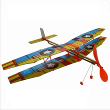 Tensible motor Airplane Inertial Foam Glider Aircraft Toy PB