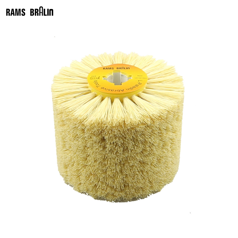 Image 3 - 1 pcs 120*100*19mm Sisal Bristle Polishing Waxing Wheel Brush for Annatto Rosewood Furniture Surface Mirror Finishfurniture wax brushespolishing wheelwheel polishing -