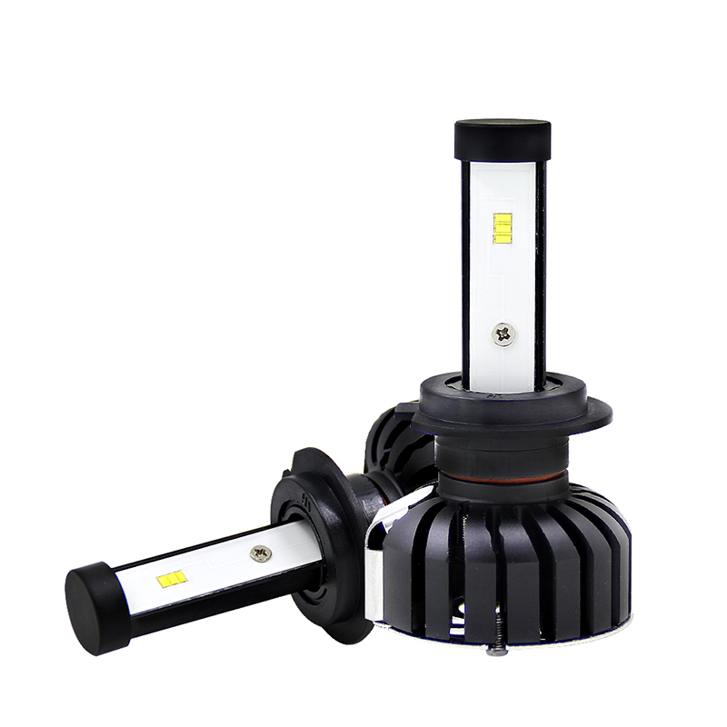Car LED Headlight Bulb Conversion Kit 12V 6500K 80W H4 H7 H11 H1 Automobile Headlamp Lighting Hi/Lo Beam CSP LED Auto Head Light